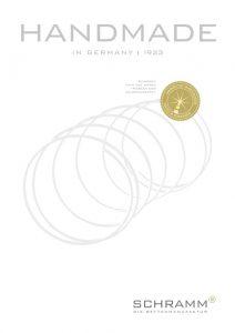 Schramm Handmade in Germany Katalog